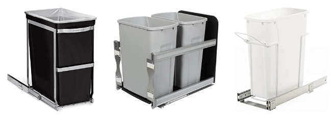 Pull Out Kitchen Trash Can