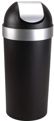 umbra swing lid trash can