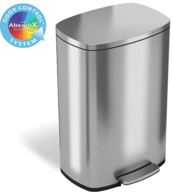 Odor Control Trash Can