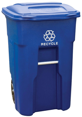 toter outdoor trash can
