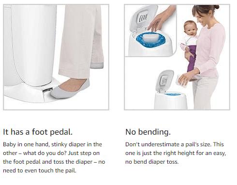best diaper bin