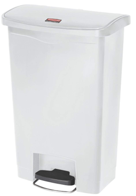 rubbermaid step on trash can 13 gallon