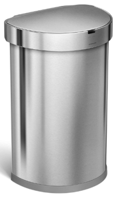 garbage can with motion sensor