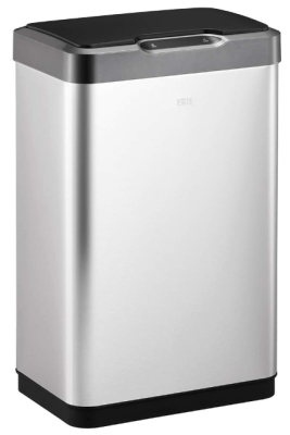 eko mirage 50l motion sensor trash can