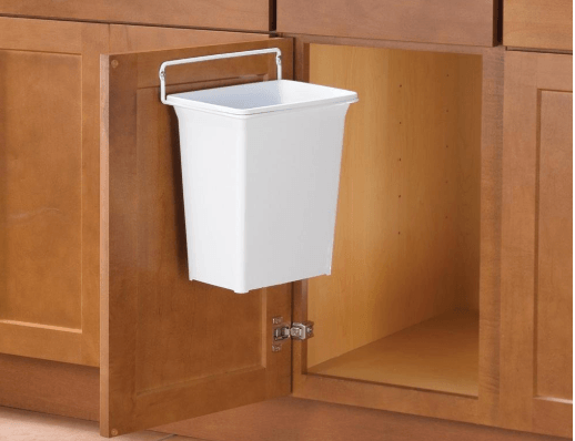 Door-Mounted Kitchen Garbage Can