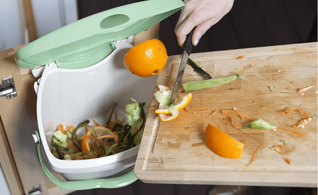 kitchen composting bins for countertop