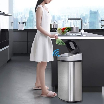 sensor can for kitchen