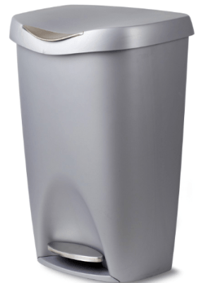 single lid kitchen trash can