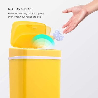 Motion Sensor Trash Can