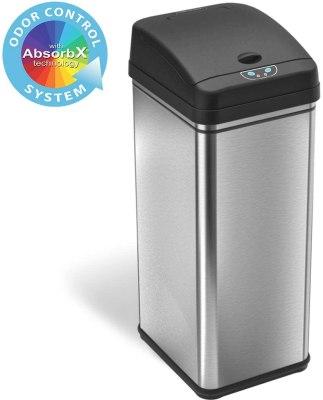 automatic kitchen trash bin