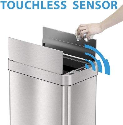 sensor can trash can