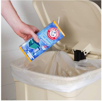 Remove Bad Smell From Trash Can