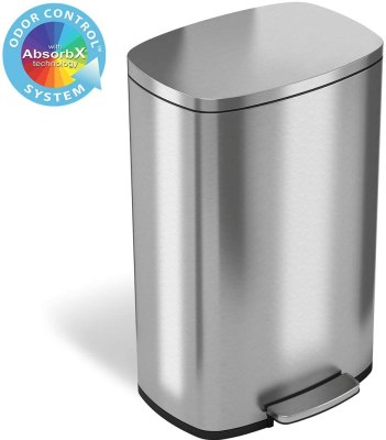 odor seal trash can