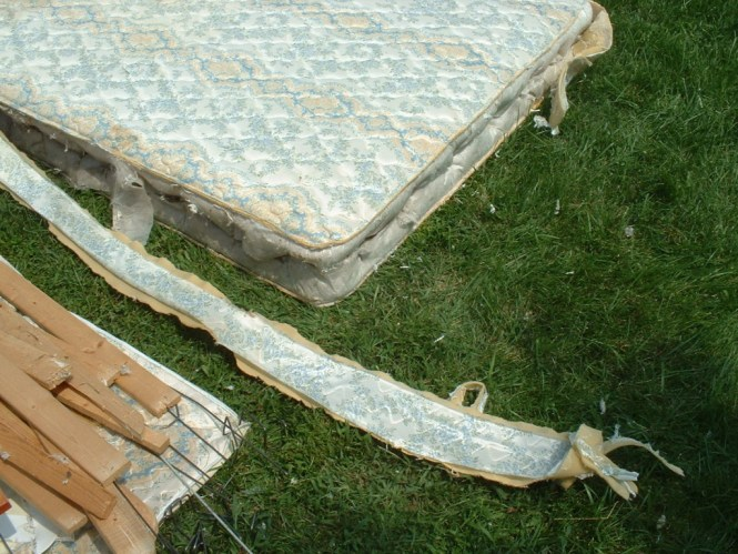 Remove The Side Fabric From Mattress