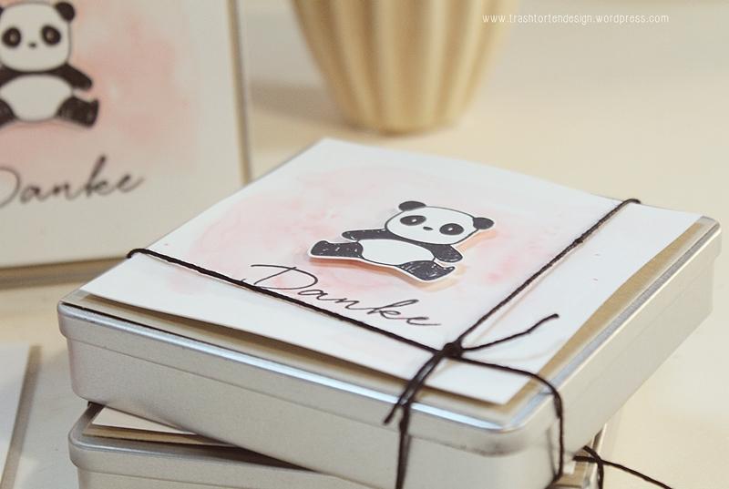 Panda In Love Rittersport Als Kleines Dankeschon