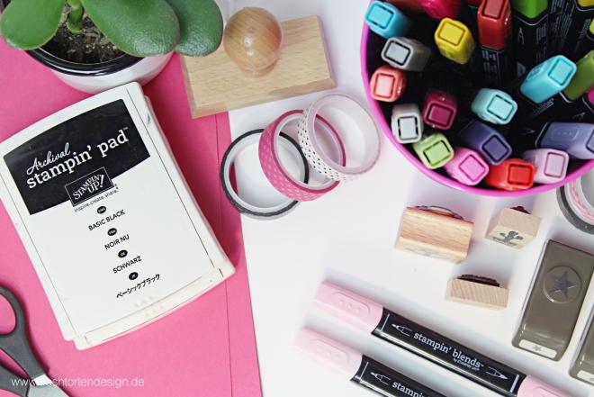 stampinup_Schreibtisch_rosa-Stempel_farbe