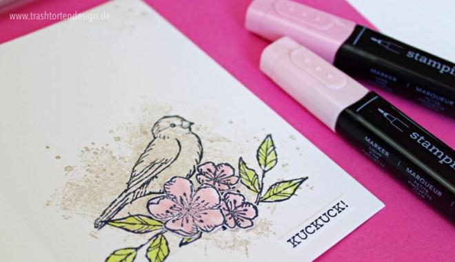 frei wie ein Vogel_stampinup_Karten basteln_stampin blends