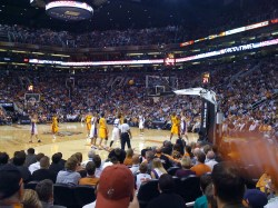 The Cleveland Cavaliers @ The Phoenix Suns