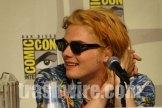 Gerard Way's blonde hair at Comic Con 2010
