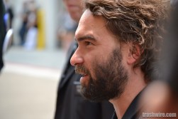 Johnny Galecki greets fans at Comic Con 2013