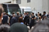 The Vampire Diaries cast waves at fans at Comic Con 2013