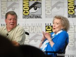 William Shatner and Betty White at Comic Con 2014