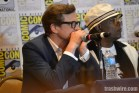 Colin Firth and Samuel L. Jackson at Comic Con 2014