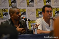 Damon Wayans Jr and Rob Riggle at Comic Con 2014