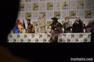 Goosebumps monsters at Comic Con 2014
