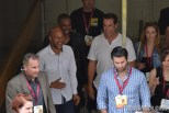 Keegan-Michael Key, Damon Wayans Jr and Rob Riggle at Comic Con 2014