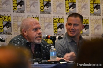 Ron Perlman and Channing Tatum at Comic Con 2014