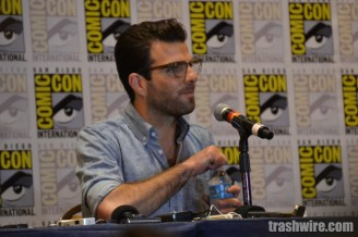 Zachary Quinto at Comic Con 2014