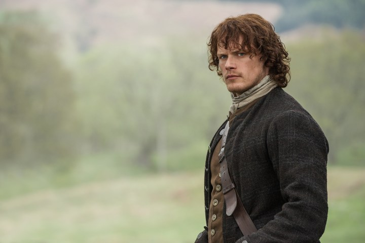 Watch a couple episodes of Outlander on Starz and try not to fall madly in love with Jamie Fraser (Sam Heughan).