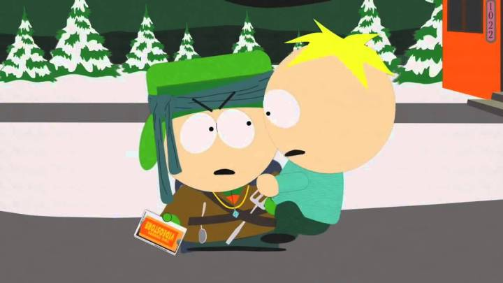 Butters goes Gollum in South Park's Return of the Fellowship of the Ring to the Two Towers
