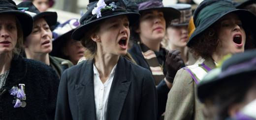 Suffragette starring Carey Mulligan