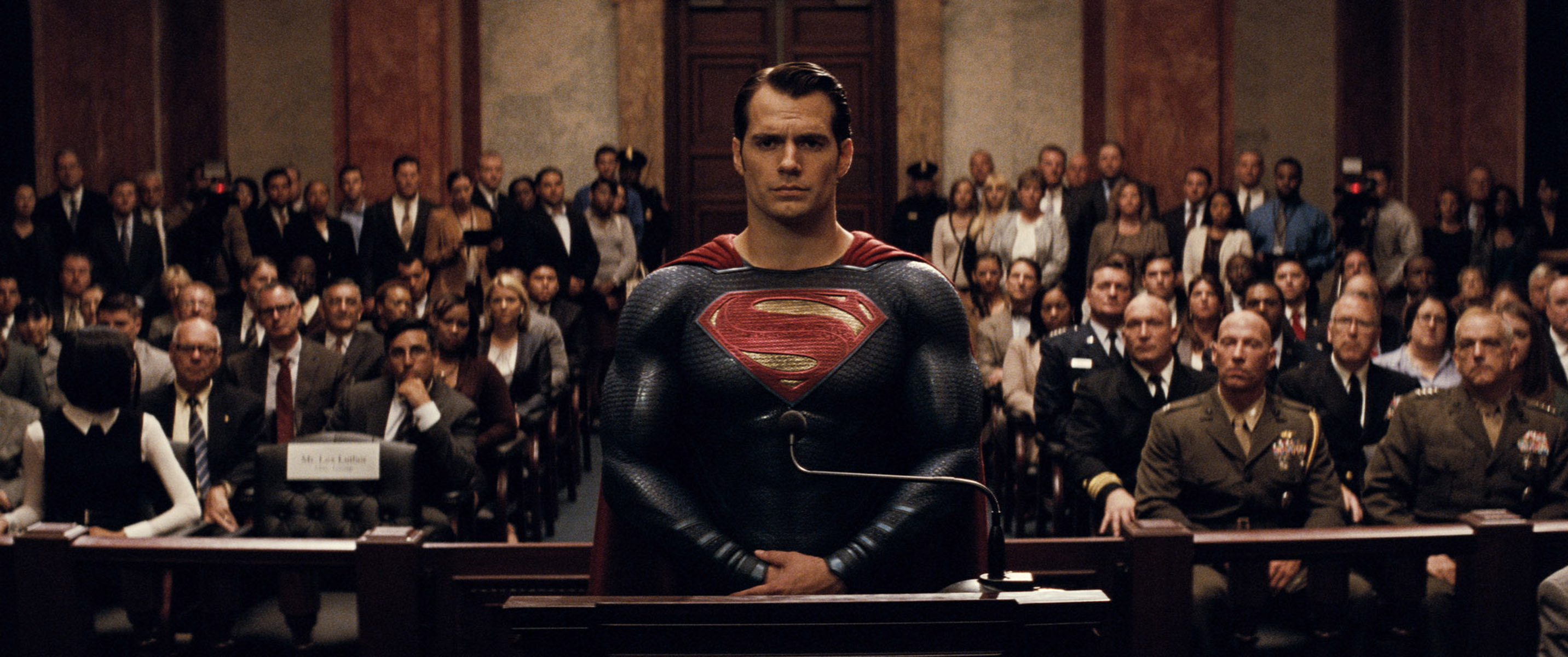 "HENRY CAVILL as Superman in Warner Bros. Pictures' action adventure ""BATMAN v SUPERMAN: DAWN OF JUSTICE,"" a Warner Bros. Pictures release."