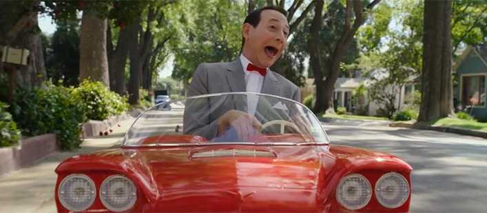 Pee-wee's Big Holiday now on Netflix