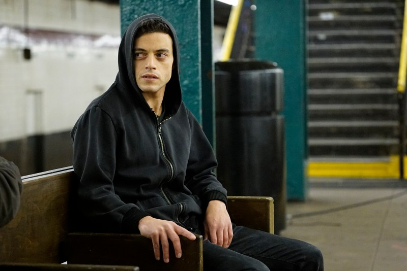 MR. ROBOT -- Rami Malek as Elliot -- (Photo by: Peter Kramer/USA Network)