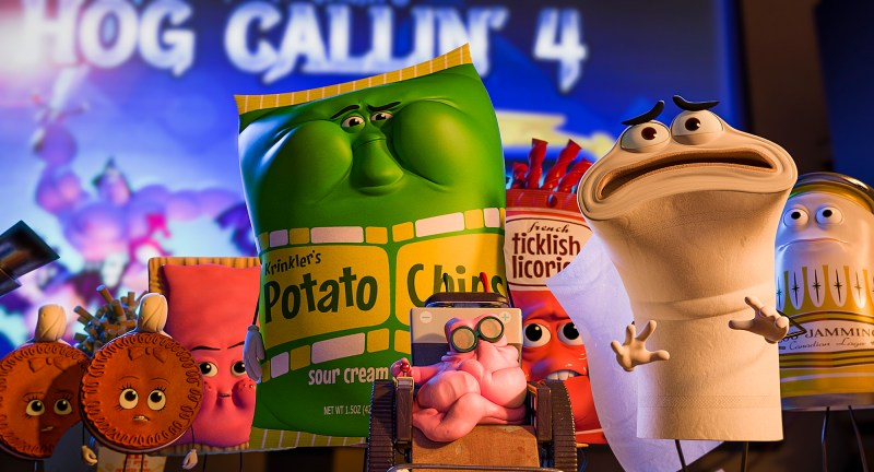 "Food in Columbia Pictures' adult animated comedy ""Sausage Party""."