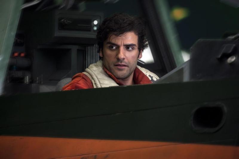 Oscar Isaac as Poe Dameron in Star Wars Episode VIII: The Last Jedi
