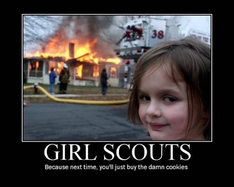 It's Girl Guide cookie time!