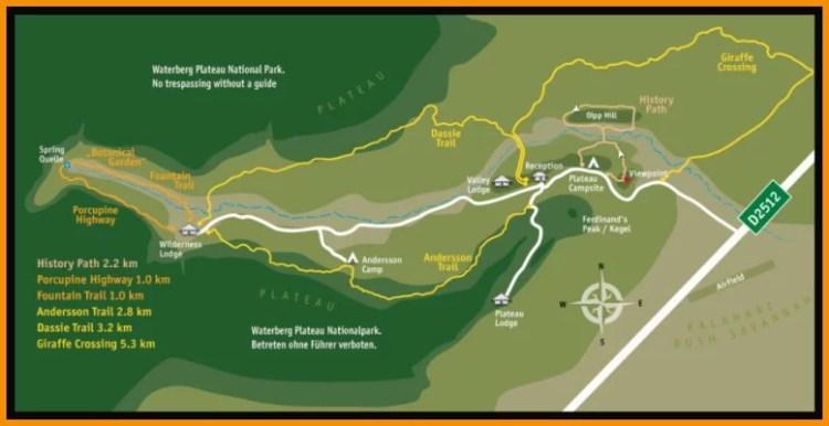 Waterber plateau