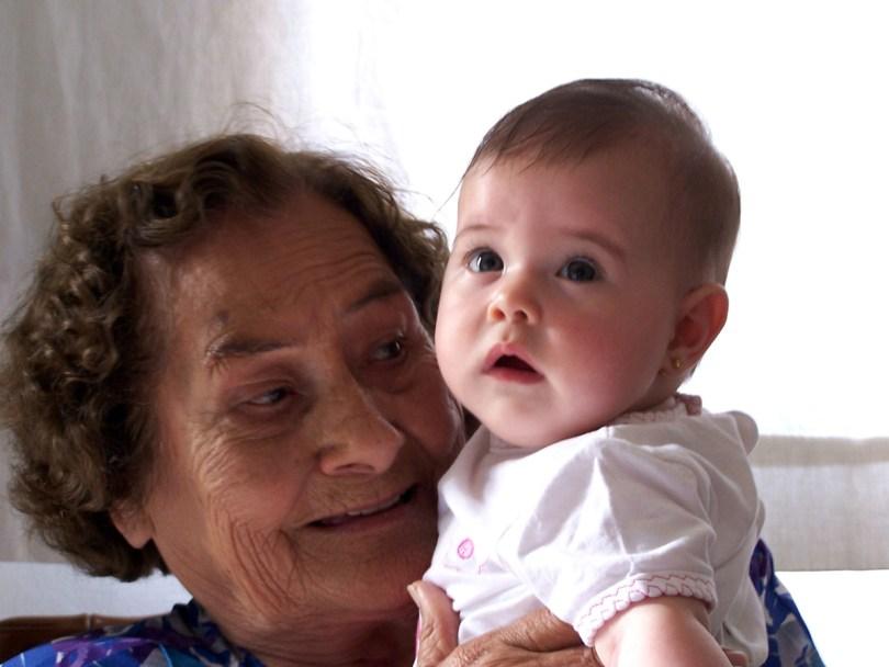 bisabuela y bisnieta