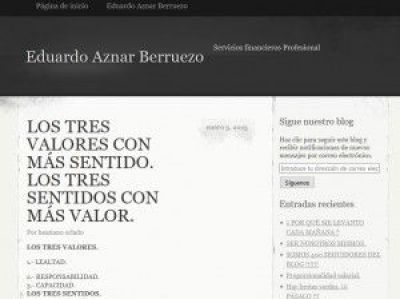 blogcolEduardoAznarBerruezo los tres valores