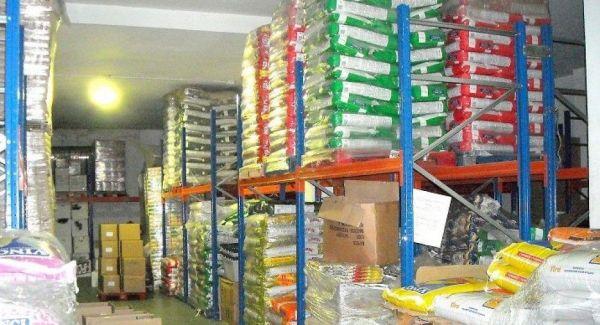 Mayorista alimentación animal y productos para tiendas de animales Andalucía