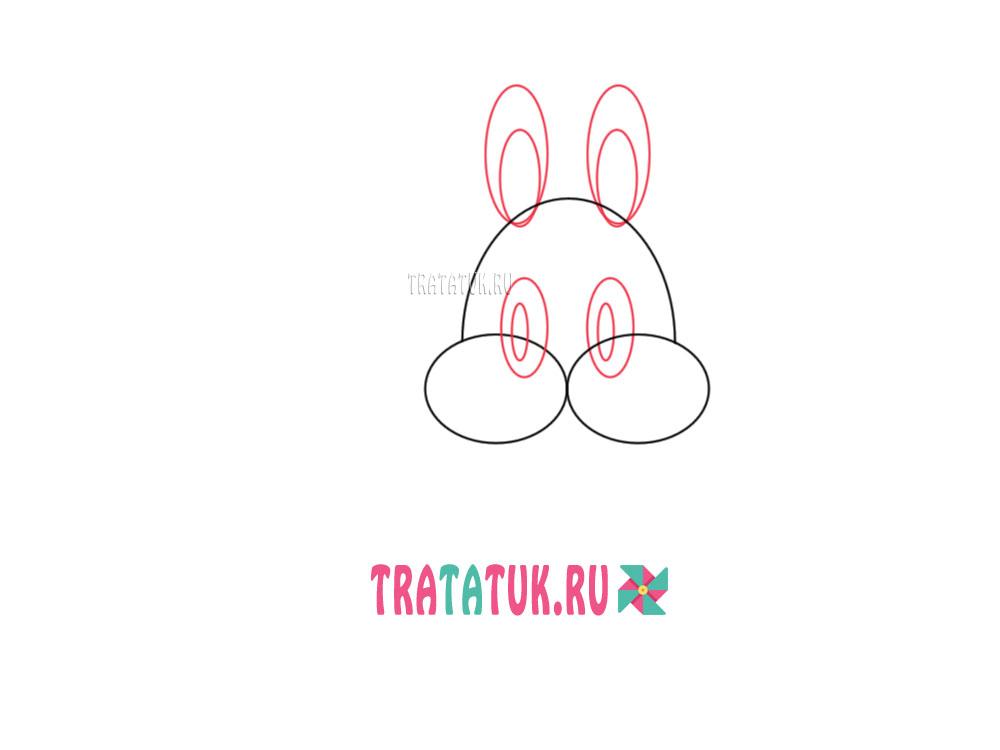 hvordan man tegner en sød bunny