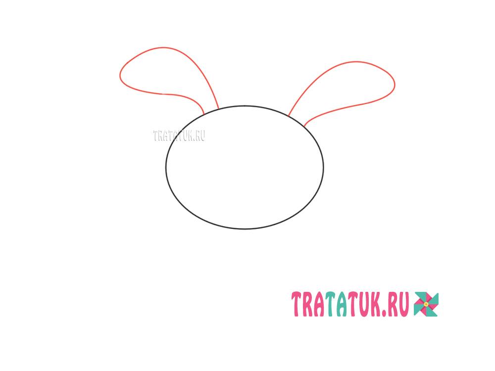 Hvordan man tegner bunny