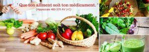 Médecine : le secret est avant tout dans l'alimentation !
