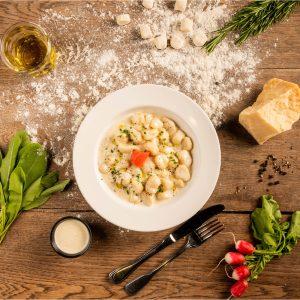 Gnocchi bio et fait maison Trattino alimentation écologique