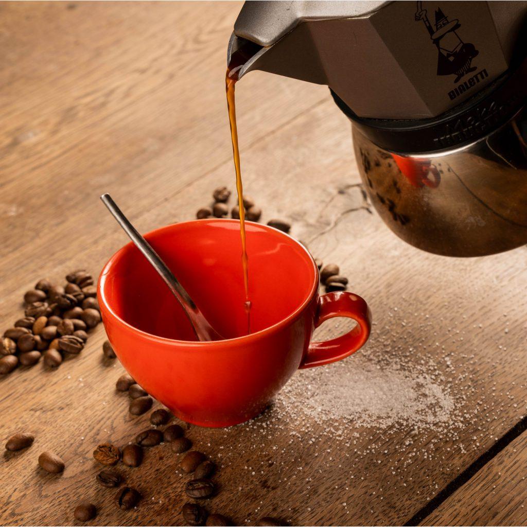 Caffè à l'italienne chez Trattino